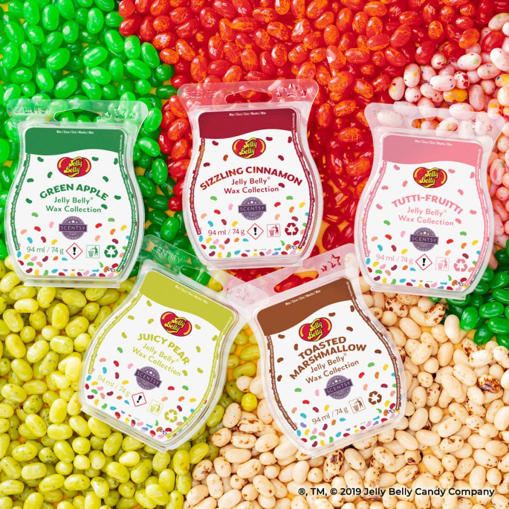Jelly Belly wax bar collection