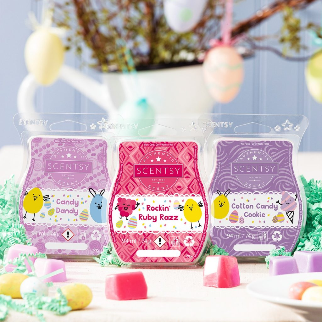 Easter Scentsy wax bars