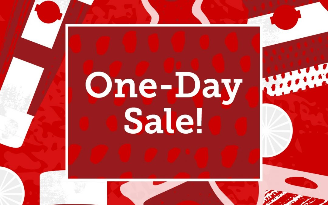 One day sale!
