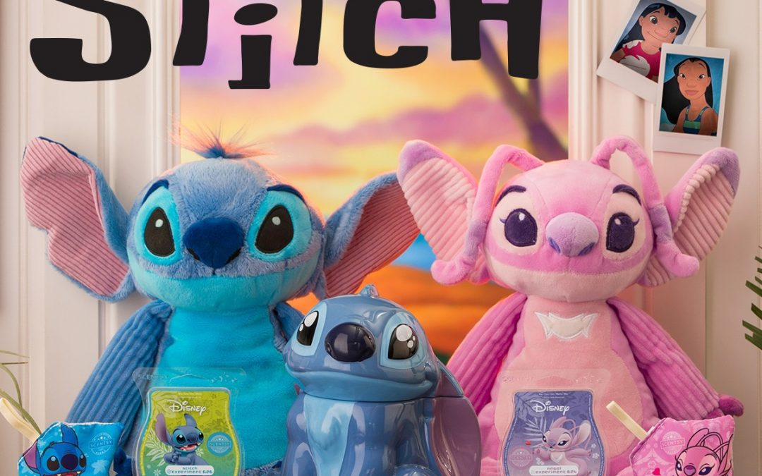 Aloha! New Stitch warmer plus Lilo and Stitch faves back from the vault!
