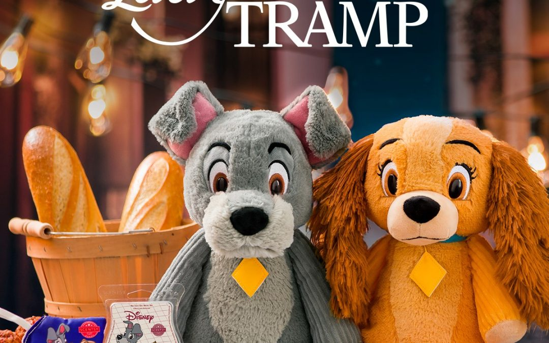 Doggy duo, Lady and the Tramp, join the Disney Collection