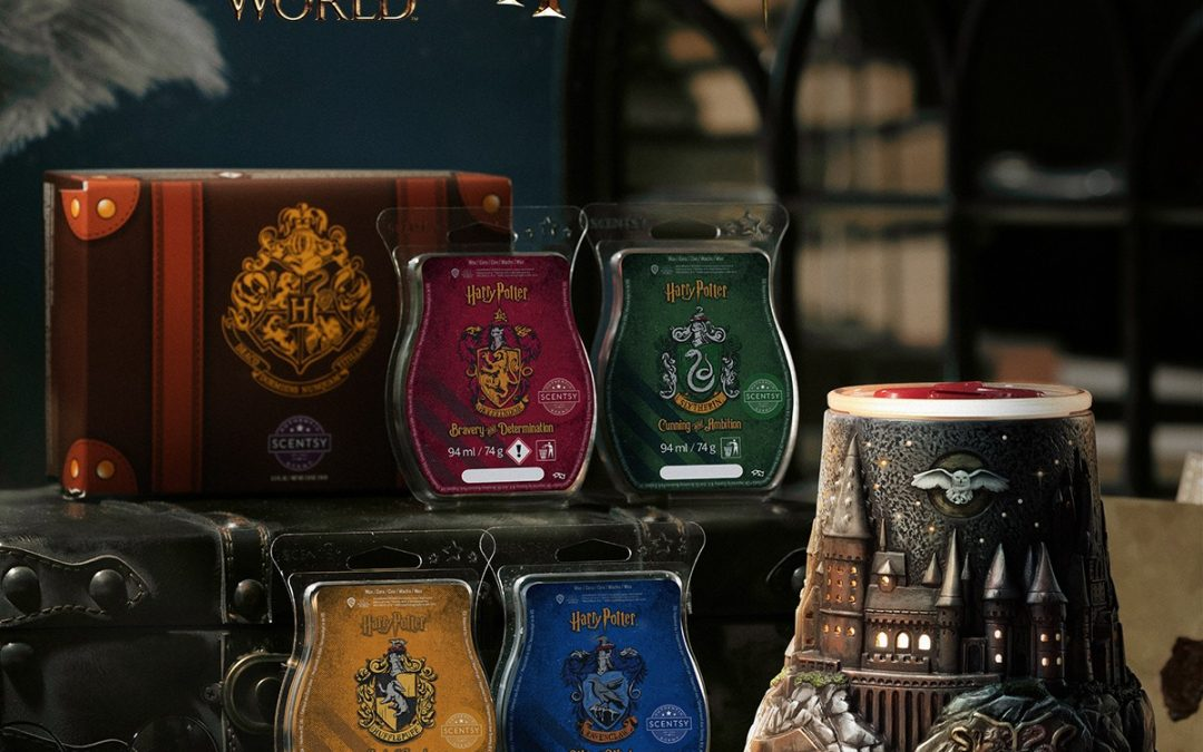 Harry Potter Hogwarts Scentsy Warmer? That's right up our Diagon Alley!