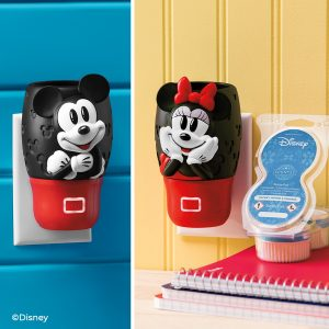 Mickey and Minnie Scentsy wall fan diffuser