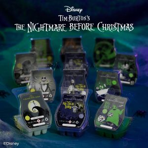Nightmare Before Christmas Scentsy Wax Bar Collection