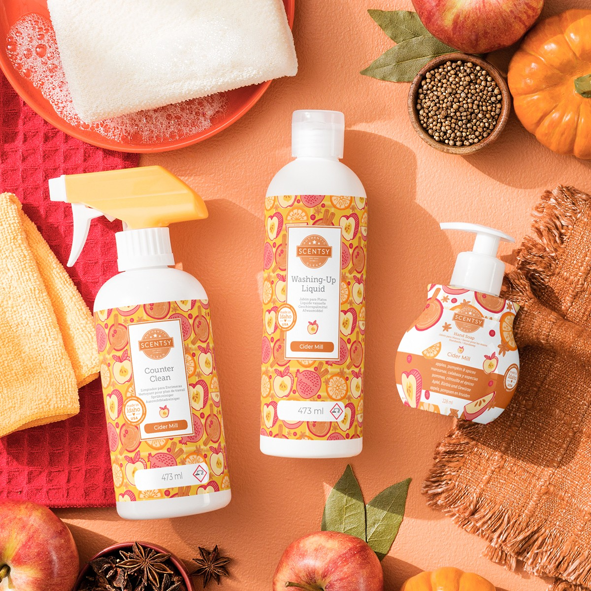 Clean and Hand Soap Bundle - Cider Mill